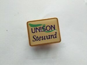 UNISON STEWARD TRADE UNION  BADGE