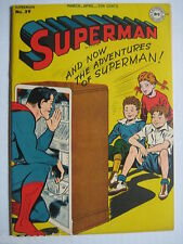 Vintage Old Collectible DC Comic Superman 39 VFNM