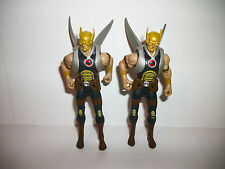 "Super Hero Comic Book Infinite Heroes Figure 3-4"" Hawkman Warriors Lot x2"