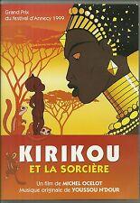 DVD - KIRIKOU ET LA SORCIERE ( DESSIN ANIME ) / MICHEL OCELOT / COMME NEUF