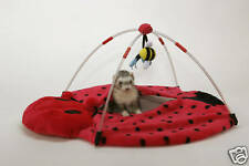 Marshall Ferret Cage Lady Bug Play Center Bed Toy
