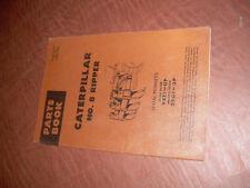 CATERPILLAR CAT D 8 RIPPER NO. 8 TRACTOR PARTS CATALOG