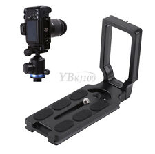 Vertical Bracket Quick Release L-Plate Hand Holder Grip For Canon Arca Swiss