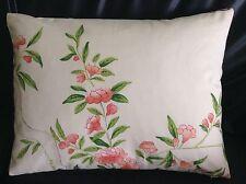 "Designer Guild ROSA Chinensis' Fabric PILLOW Cushion Cover100%cotton12""x16"" #6"