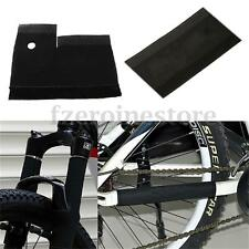 1Pair/2Pc Cycling MTB Bike Bicycle Front Fork Protector Pad Wrap Cover Set Black