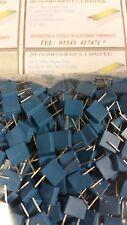 Condensateur / 0,1 uF / 63V POLY CASE 5mm Pitch 100 par sac