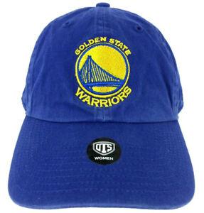 Golden State Warriors Womens Hat Spell Out Script Logo NBA Basketball Sports Cap