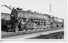 7F047 RPPC 1935 SOUTHERN PACIFIC RAILROAD ENGINE #4405 BERKELEY CA