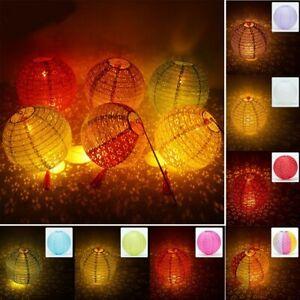 Mid-Autumn Festival  LED Lantern Cotton Paper Lantern Hollow Lantern Decor