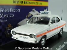 Ford Escort MK1 México coche modelo policía Sussex Corgi Vanguards Atlas K8 1:43