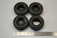 Set of Ground Hawg Off Road 4x4 Tires 1/24 1/25