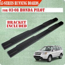 "For 03-08 Honda Pilot/01-06 Acura MDX 5"" Nerf Bar Running Board Side Step BLK A"