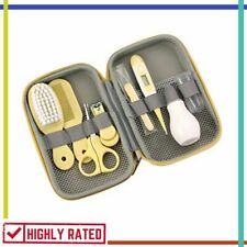 BABY GROOMING KIT Portable Safety Care Set for Nursery Newborn Infant By ZELIN
