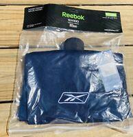"REEBOK SX 100 Hockey Socks Size Intermediate 26"" Navy Blue Polyester New In Pack"
