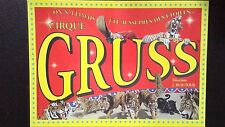 CARTE D'INVITATION CIRQUE GRUSS