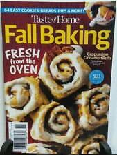 Taste of Home Fall Baking Fresh From the Oven (Digest size) FREE SHIPPING