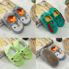Toddler Infant Kids Baby Warm Shoes Boys Girls Cute Animal Soft-Soled Slippers