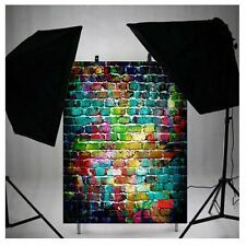 3X5ft Vintage Poly Fabric Photo Backdrops Customized Studio Background Studio