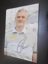 44186 Scharrenbroich Ditzel Borussia Mönchengladbach originale con firma autografo cartolina