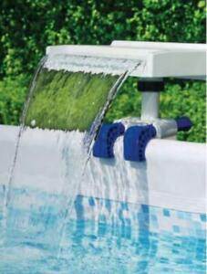 Bestway 58619 LED Pool Wasserfall Mehrfarbig Poolbeleuchtung Farbwechsel NEU