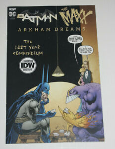 IDW Batman The Maxx Arkham Dreams Lost Year 2020 NYCC Comic Con Exclusive NM 9.4