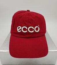 ECCO Golf Hat - Red (Men's) Strapback. Free Shipping!