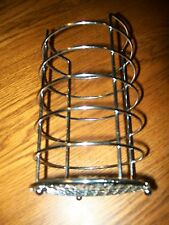 "Multipurpose Wire Rack with Metal Fence Bottom 8"" Tall  4.5"" wide"