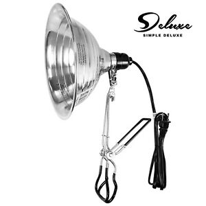 Simple Deluxe 150W Tight Grip Clamp Lamp Light with 8.5'' Aluminum Reflector E26