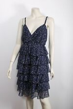 CITY CHIC CHIFFON TIER RUFFLE DRESS SZ M 18 16 / BUY 3 = FREE POST