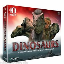 DINOSAURS DISCOVERY CHANNEL DOCUMENTARIES COLLECTION NEW 6 DVD BOXSET R4