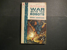 War With The Robots by Harry Harrison (Pyramid, First Printing 1962) - Sci Fi