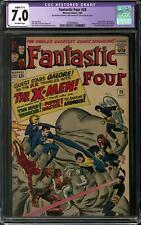 Fantastic Four #28 CGC 7.0 Slight (C-1) Restoration (OW) Early X-Men Appearance