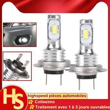 2pcs H7 Lampes Feux De Brouillard 55W 8000LM Ampoule Blanc Voiture LED Phare HS