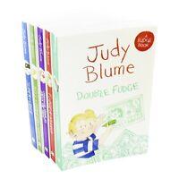 Judy Blume Fudge Series 5 Books Children Collection Paperback Set