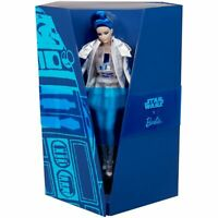 R2D2 X Star Wars Barbie Doll With Jacket & Thigh High Boots