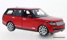 Land Rover Range Rover rot -  1:24 RASTAR