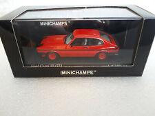 FORD CAPRI III 1982 Red 1/43 MINICHAMPS 430 082225