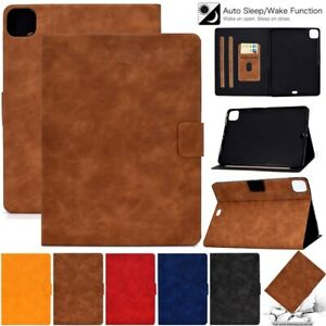 """For Apple iPad Pro 11 9.7"""" 8th 10.2 10.5 Smart Magnetic Leather Stand Case Cover"""