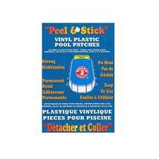 BOXER ADHESIVES PEEL & STICK VINYL PLASTIC POOL PATCHES, SPA & SWIMMING POOL REP