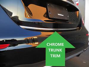 Chrome TRUNK TRIM Tailgate Molding Kit forhonda models 2012-2018