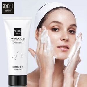 Nicotinamide Amino Acid Face Cleanser Facial Scrub Cleansing Acne Oil Control