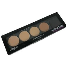 L'Oreal Paris Infallible Total Cover Concealing & Contour Kit #220 New Sealed