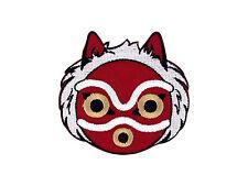 Princess Mononoke Mask Embroidered Iron On Patch Iron on Applique