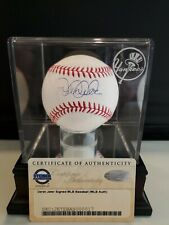 DEREK JETER  NY YANKEES AUTOGRAPHED ROMLB Auth STEINER AND MLB