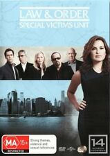 LAW AND ORDER SVU :SPECIAL VICTIMS UNIT SEASON 14 -  DVD & UK Compatible
