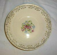 Vintage Serving Bowl 5186 Royal China Sebring OH Warranted 22K Gold