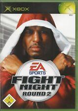 Fight Night Round 2 (Microsoft Xbox, 2005, DVD-Box)