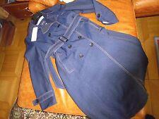 Basler Modell Mantel Trenchcoat Gürtel Jeans Stretch NP 499 Euro Fehlkauf