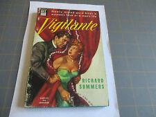 VIGILANTE BY RICHARD SUMMERS (1950)  DELL ROMANCE  MAPBACK #471