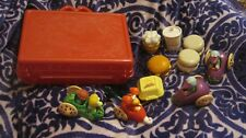 VINTAGE 1988 MCDONALDS TOYS LUNCBOX FRAGGLE ROCK FOOD CHANGEABLES TRANSFORMERS